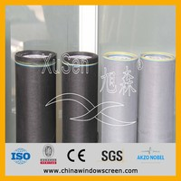 Fiberglass motorized insect screen tube with UV protection, motorised window screen
