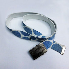 Wholesale belts cotton canvas fabric belt with buckles