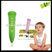 Hottest portable educational toys language point read pen for learning language with CE,ROHS,OEM services