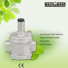 Ajustable regulador de presión de Gas