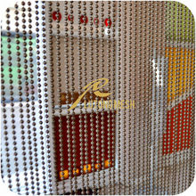 decorative metal string curtain for space partition