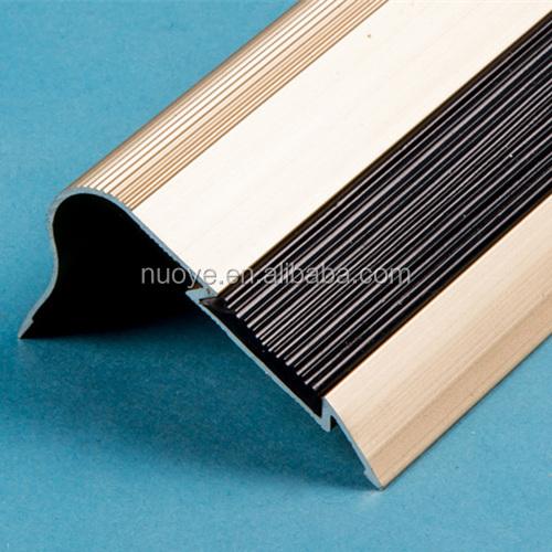 Aluminum Edge Protection : Factory wholesale aluminum stair nosing for edge