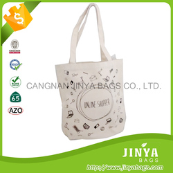 Best selling products cotton canvas tote bag messenger bag , canvas bag