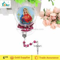 Passed SGS Test antique wood rosary New Design