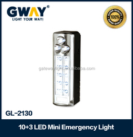 led emergency light,plastic housing