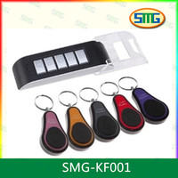 SMG-KF001 40 Meters Finding Distance 5Ch Wireless Electronic Key Finder Reminder With 5 Keychain Receivers For Lost Keys Locator