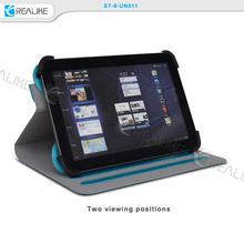 Wholesale multi-stand leather 10' tablet universal sleeve