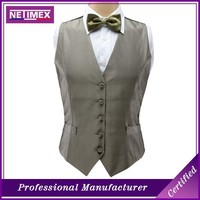 Low Price Fashion linen waistcoat For Men
