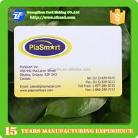Trade assurance plastic bizs card printing/design