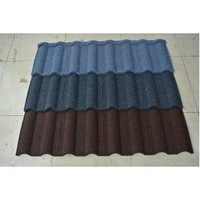 hot sale colorful stone sand coated metal roofing tiles shingles manufacturer