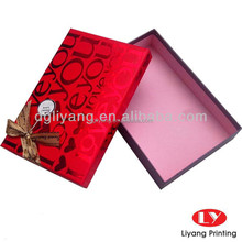 lid and base wedding decoration paper Gift Box Printing