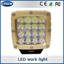 Wholesale products auto accessory california light works LED panel work light, shanren LED work light
