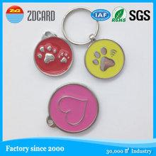 NFC Pet ID Collar rfid tag, qr code nfc pet tracking dog tag RFID