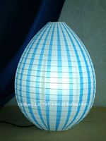 new design paper table lamp