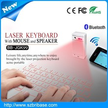 Bribase-------Virtual Laser keyboard bluetooth laser qwerty projection keyboard tablet with laser keyboard