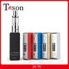 China factory wholesale mini 50w box mod tc vapor mod
