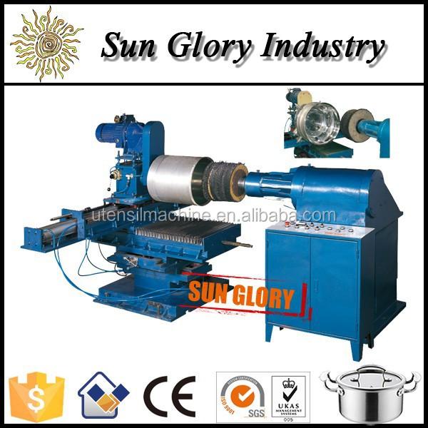 alloy wheel polishing machine