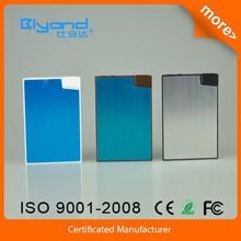 New design super slim hot sale 1550mah power bank rohs support oem/odm