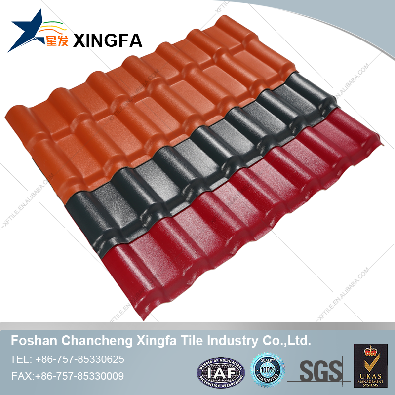New Products Of Spanish Style Clear Plastic Roofing Sheet