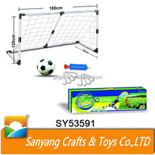 Plastic mini football beach soccer goal for boy