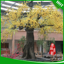 Customized artificial pu tree bark