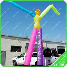 2015 new design outdoor show advertising inflatable clown air dancer for sale