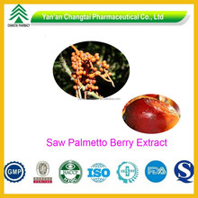 GMP Certificated Natural Purity Saw Palmetto Berry Extract 25% 45%
