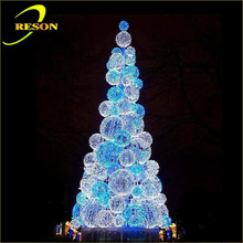 Party decorations outdoor christmas light LED cone tree