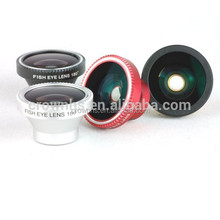 2015 new product 3 in 1 magnetic detachable super fisheye lens for iphone