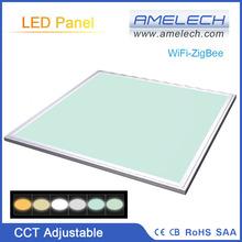 36W 600x600 CCT Adjustable ZigBee App and Sensor Remote Control LED Smart Light