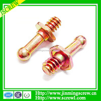 Yellow Ball Head Machine Screws and Fasteners High Quality Automobile Bolt