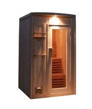 New design outdoor traditional sauna room with sauna stove A-807