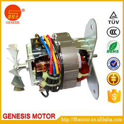 Hand electric motor for electric citrus juicers