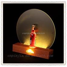 2015 TOP grade dongguan acrylic led display board led light base acrylic