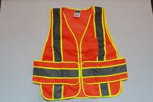 Reflective tape glow in dark for safety vest