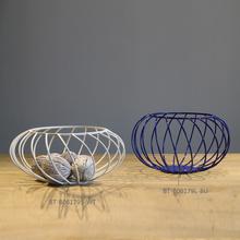 New Design Round Metal Decorative Fruit Tray