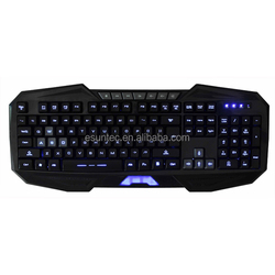 2014 wholesal hot selling latest illuminated gaming keyboard-- KBL-008
