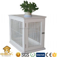 Snow White Wooden Dog Kennel wholesale supply in factory price