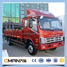 Marca famosa de china mini camión de carga / foton doble cabina camión venta