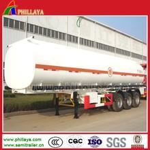 40M3 Fuel/Oil Tank Semi Trailer,Diesel Tanker With Volume 25-60M3 Optional