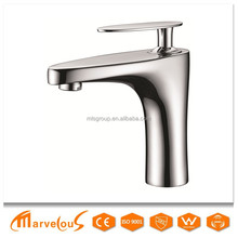 High Quality Single Handle Copper Hot And Cold Water Bathroom Faucet