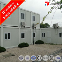 Prefabricated apartment building container