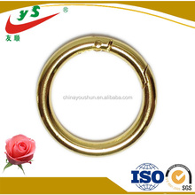 Golden plated round spring o ring