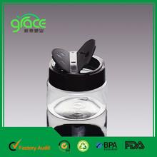 frasco de plástico pet de la mariposa tapa de la botella de plástico de la parte superior