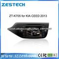 ZESTECH doble din de pantalla táctil del gps del coche para kia 2013 ceed con- en la navegación gps bluetooth radio agenda TV