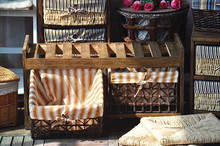 2015 popular double wave basket shoe rack antique storage shoe cabinet