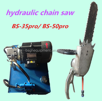 Active Demand BSGH BS-35PRO hydraulic diamond chain saw rock cutting machine