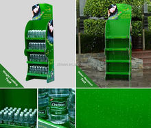 High quality collapsible corrugated plastic display shelf