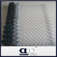 Galvanzied twisted iron chain link mesh fencing/steel wire woven netting