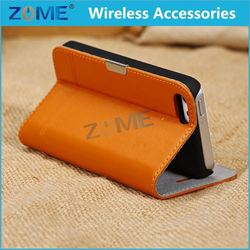 cool design rural hot style for cellphone slim wallet leather case for girls